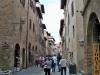 San Gimignano, via san Giovanni