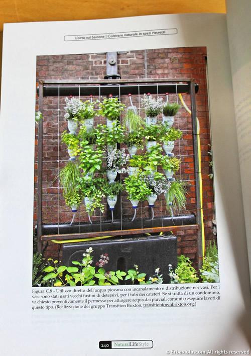 Orto verticale con irrigazione a goccia - L'orto sul balcone