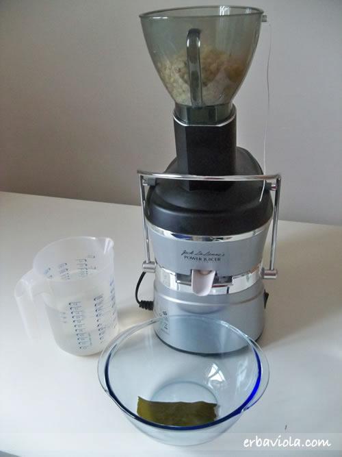 fagioli di soia nella centrifuga