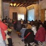 Milano, Cascina Cuccagna, con Movimento per la Decrescita Felice