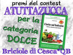 a tutta zucca - erbaviola - premio per la categoria dolce - L'orto sul balcone