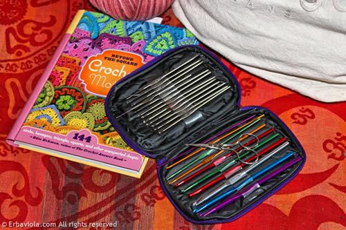 Crochet therapy - Set di uncinetti - Erbaviola.com