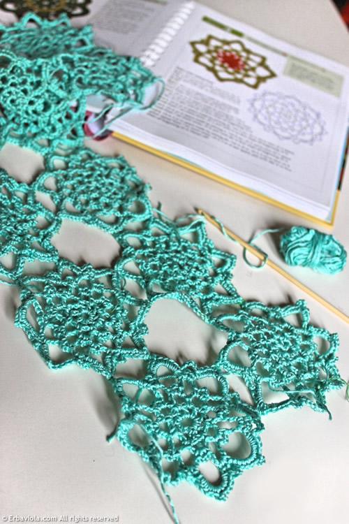 Crochet therapy - motivo per top estivo smeraldo - Erbaviola.com