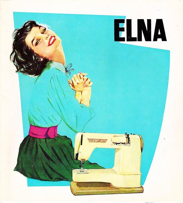 Elna Supermatic, pubblicità del 1962