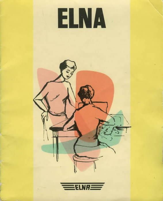 Elna: una volta erano belli persino i libretti di istruzioni!