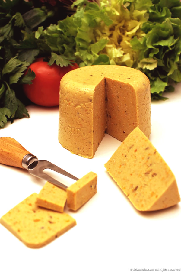 Formaggio Gouda - FORMAGGI VEG. Latte, yogurt e formaggi vegetali fatti in casa