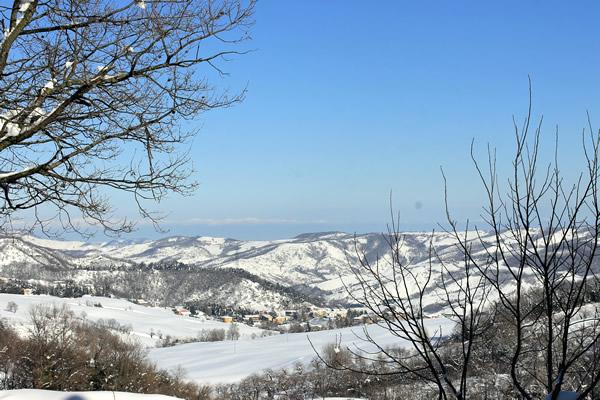 prima nevicata, 4 febbraio 2015