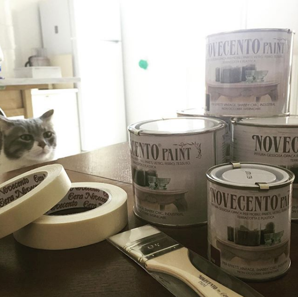 novecento paint cucina