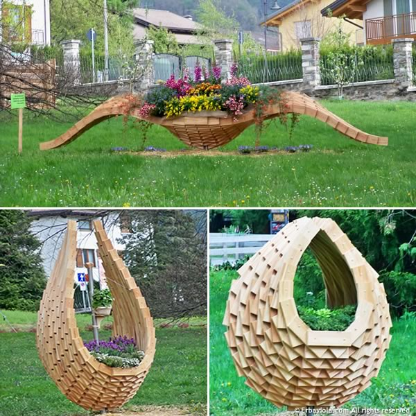 Ortinparco 2012 - installazioni in legno