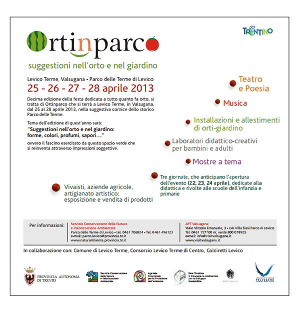 Ortinparco 2013 - Il programma