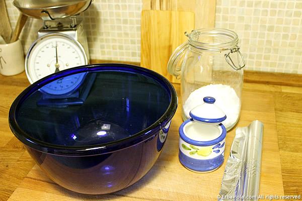 ingredienti pulizia argento - erbaviola.com