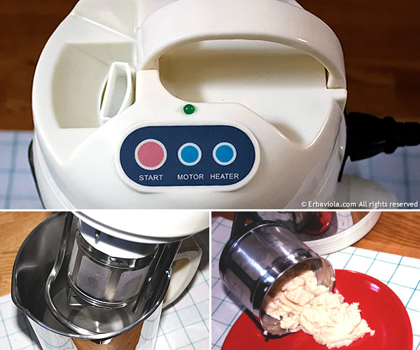 soyajoy erbaviola.com macchina per latte vegetale filtro interno Soya Joy