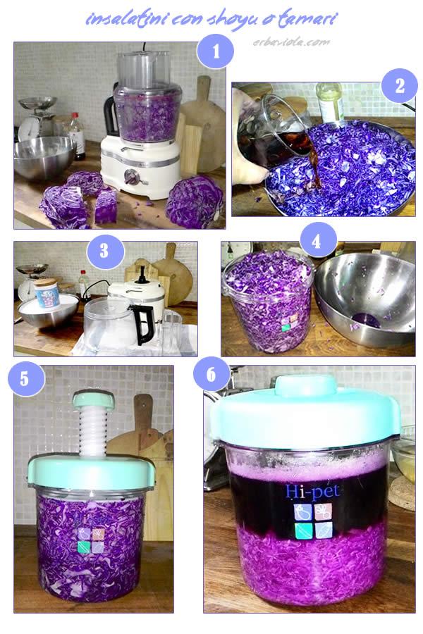 procedimento passo a passo per gli insalatini con pressa verdure hi-pet