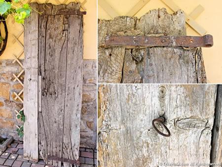 vecchia porta ex stalla