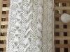 Parte esterna a maglia in canapa naturale con trecce e grana di riso