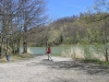 due passi al laghetto di Castel dell\'Alpi