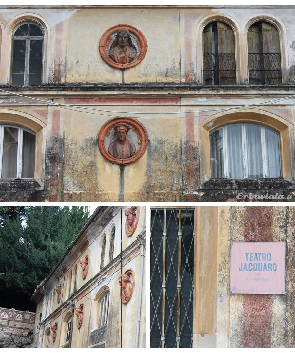 Dettagli Giardino Jacquard - Teatro Jacquard - Schio