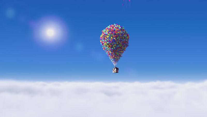 UP! in volo con i palloncini dall'omonimo film
