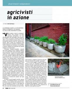 Agricivisti in azione - Terre di Mezzo, Giugno 2010