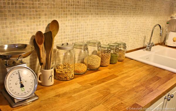 piano di lavoro cucina - erbaviola.com