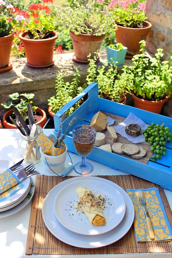 Pranzo estivo - FORMAGGI VEG. Latte, yogurt e formaggi vegetali fatti in casa
