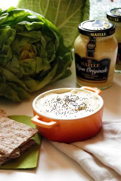 Formaggio di tofu alla senape di Digione - Maillé Dijion Originalle - Formaggi Veg