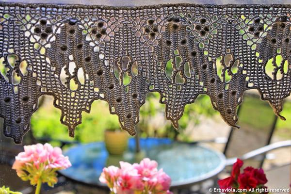 bordo tendine uncinetto crochet di erbaviola