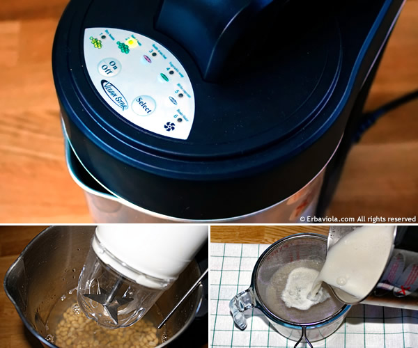 veganstar Vegan Star erbaviola.com macchina per latte di soia a filtro esterno